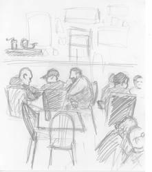 In the pub by artoftas