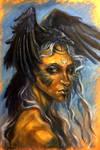 Ravenshaman by artoftas