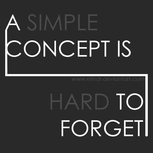 A Simple Concept