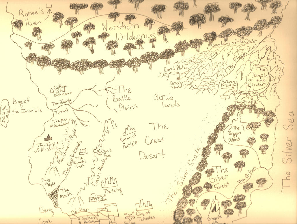 Map of Abintra by kuroinami