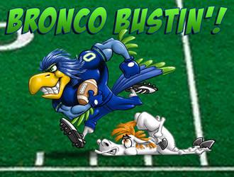 Bronco Bustin' by KevBrockschmidt