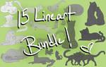 Warrior Cats - 15 Lineart Bundle
