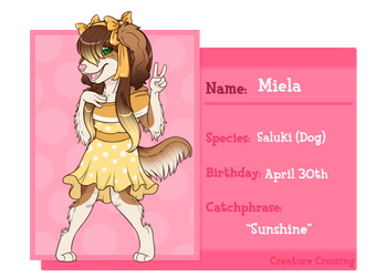 Creature Crossing   Meila by MintChiip