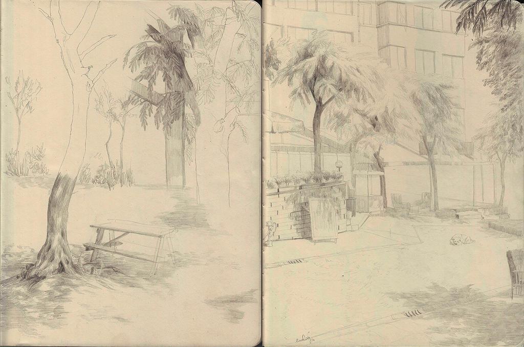 plein air by JunkieYim