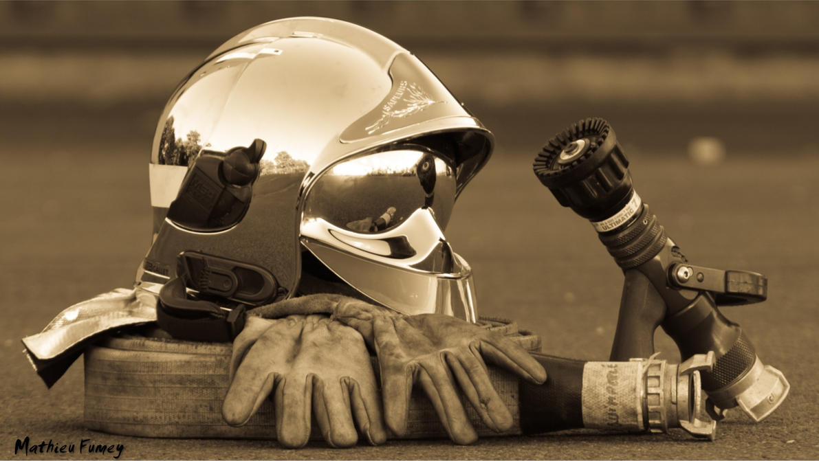 Firefighters Helmet By Matfmy