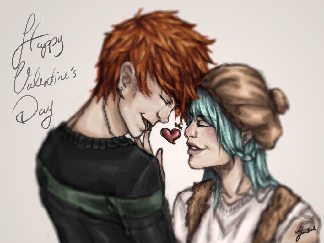 Happy Belated Valentine's Day by Shink0u-chan