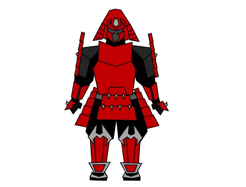 Samurai Warframe Renji by Aaronj-c