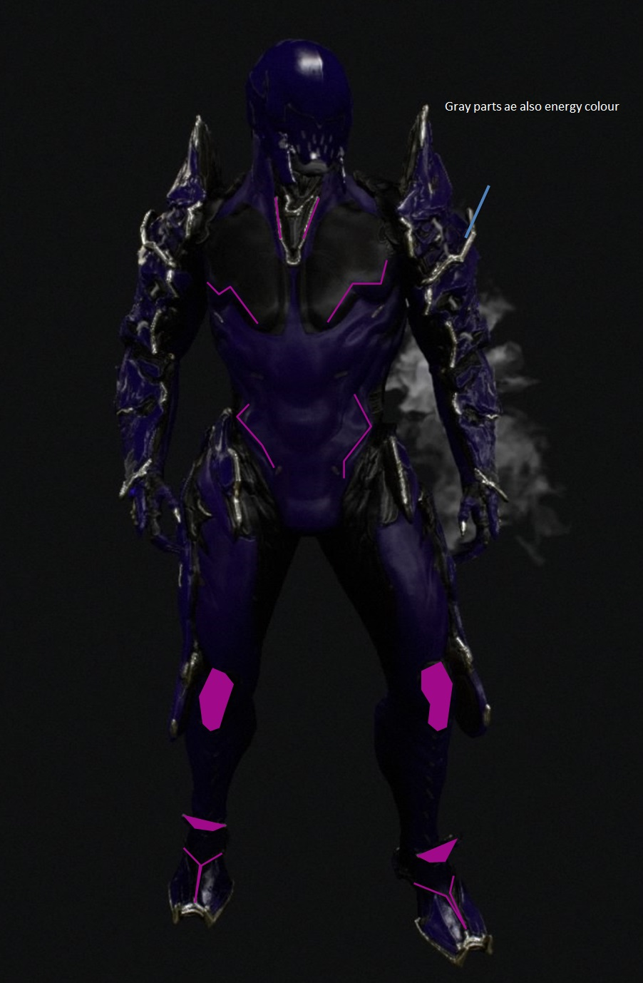 Ash energy colour 1 by Aaronj-c