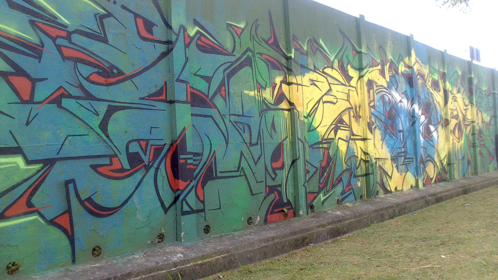 Graffiti in World Cup Brazil 2014 - 1 by WgnrGui