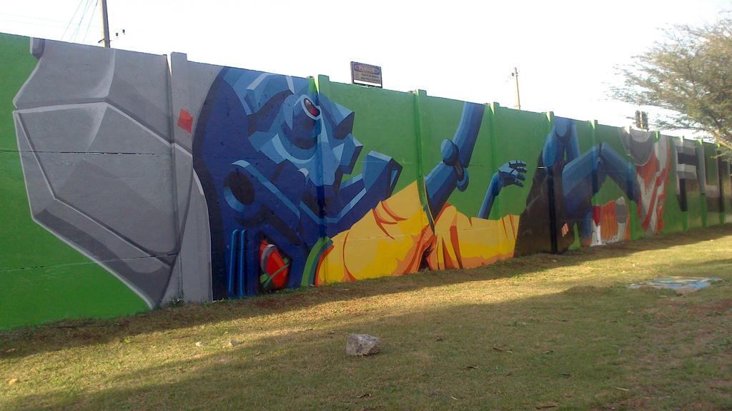 Graffiti in World Cup Brazil 2014 - 2 by WgnrGui