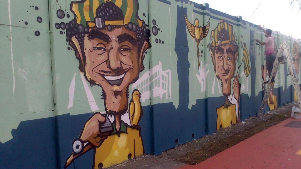 Graffiti in World Cup Brazil 2014 - 4 by WgnrGui