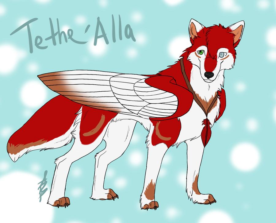 Tethe'Alla - Adventure by wolfyrose623