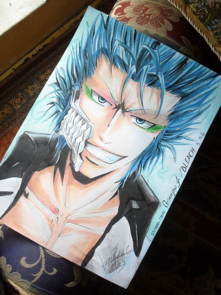 Grimmjow Jeaggerjaques by MelindaPhantomhive