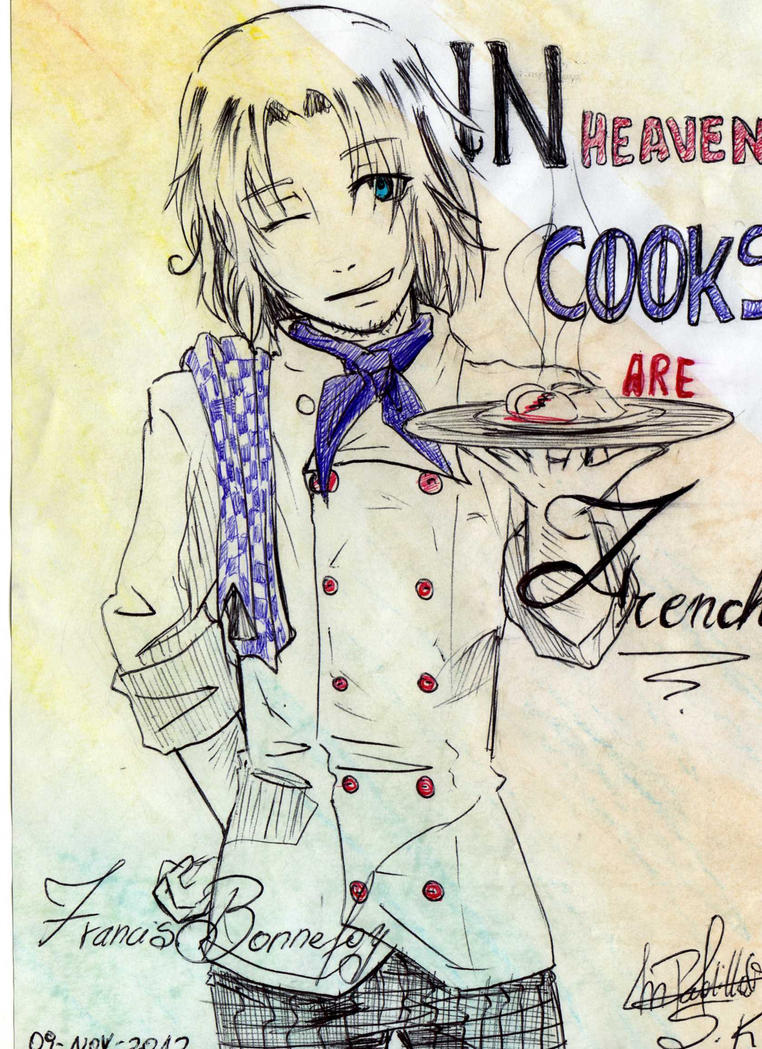 Aph Cook France by MelindaPhantomhive