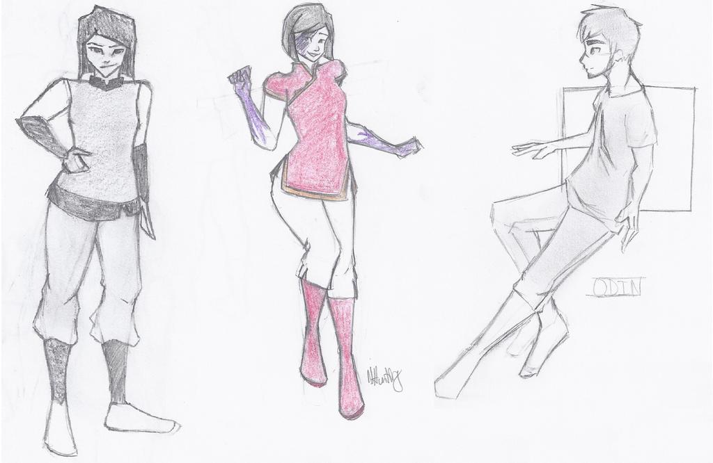 Sketches by NamirHunting