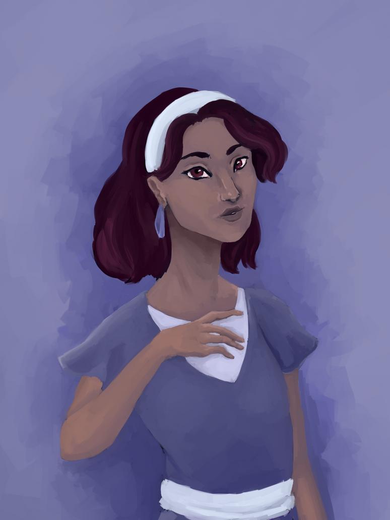 Violet by NamirHunting