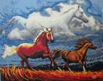 Cross Stitch: Horse