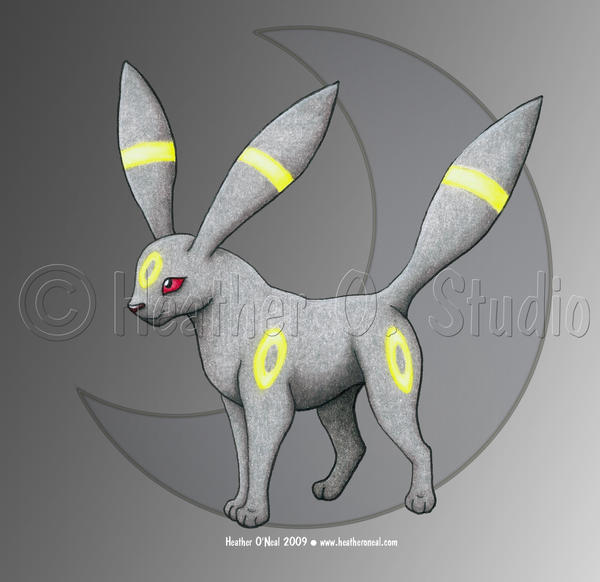 Umbreon by stormwhisper02
