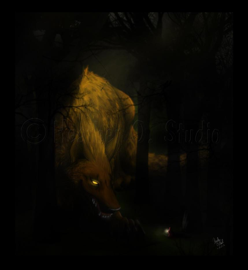 Big Bad Wolf by stormwhisper02