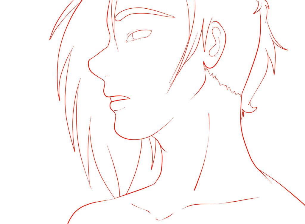 Sexy Man Sketch by BoboSan16