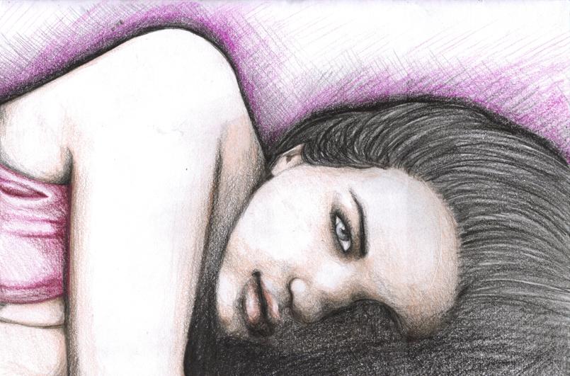 Girl in Pink by FaerietaleWaltz