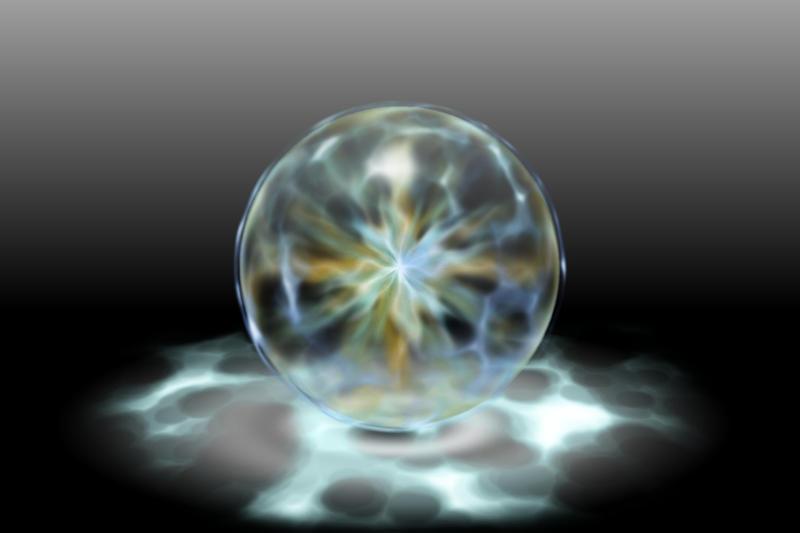 "Energetic ""Lightning Orb"" by 0-ASH-0"