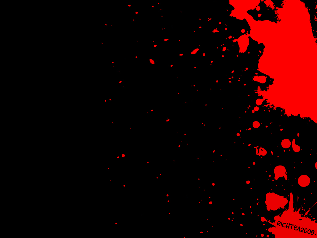 blood splatter wallpaper