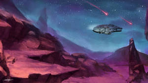 Millennium Falcon by stang1996