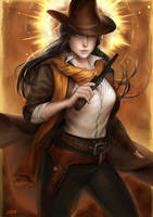 Western Beauty by stang1996
