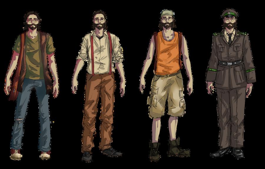 Charakter (Skizze) by BoubiGames