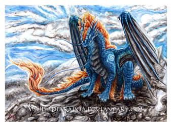Destined Blue by Kirsch-vanderWit