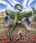 The Guardian of Scarlet fields