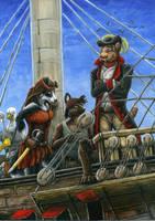 Pirate, Ahoy! by Kirsch-vanderWit