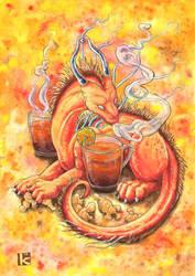 Ginger Tea by Kirsch-vanderWit