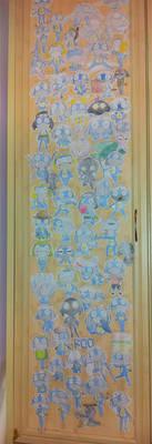 My Closet Doororo by ChibiDonDC