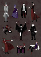 The Vampire Type Guide by ChibiDonDC