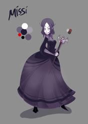 Character Sheet- Missi by ChibiDonDC