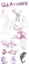 Sketch Dump by ChibiDonDC