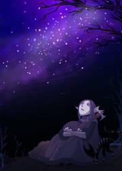 Missi Watch The Stars by ChibiDonDC