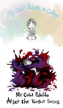 Color Palette by ChibiDonDC