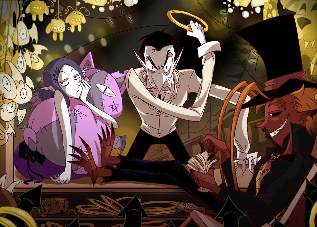 Vampire Money by ChibiDonDC