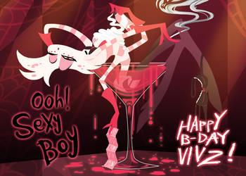 Vivziepop B-Day present by ChibiDonDC