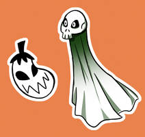 Bonus Halloween Stickers