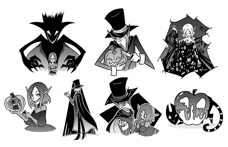 Anythingat Thr End Of Halloween 2020 Halloween Stickers 2020 by ChibiDonDC on DeviantArt