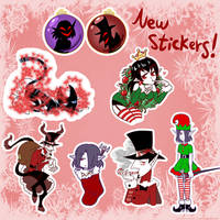 New Christmas Stickers!