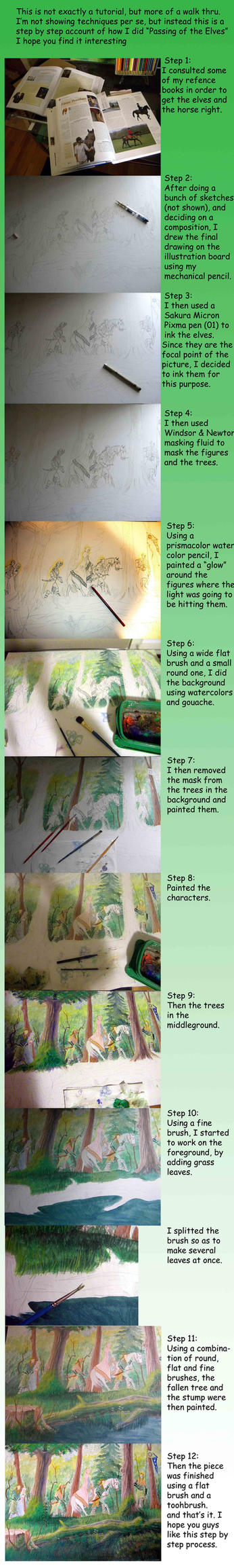 Painting step by step by hcollazo2000