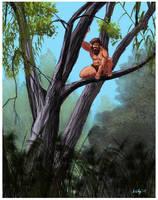 Tarzan color study by hcollazo2000