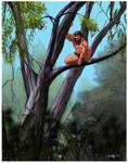 Tarzan color study