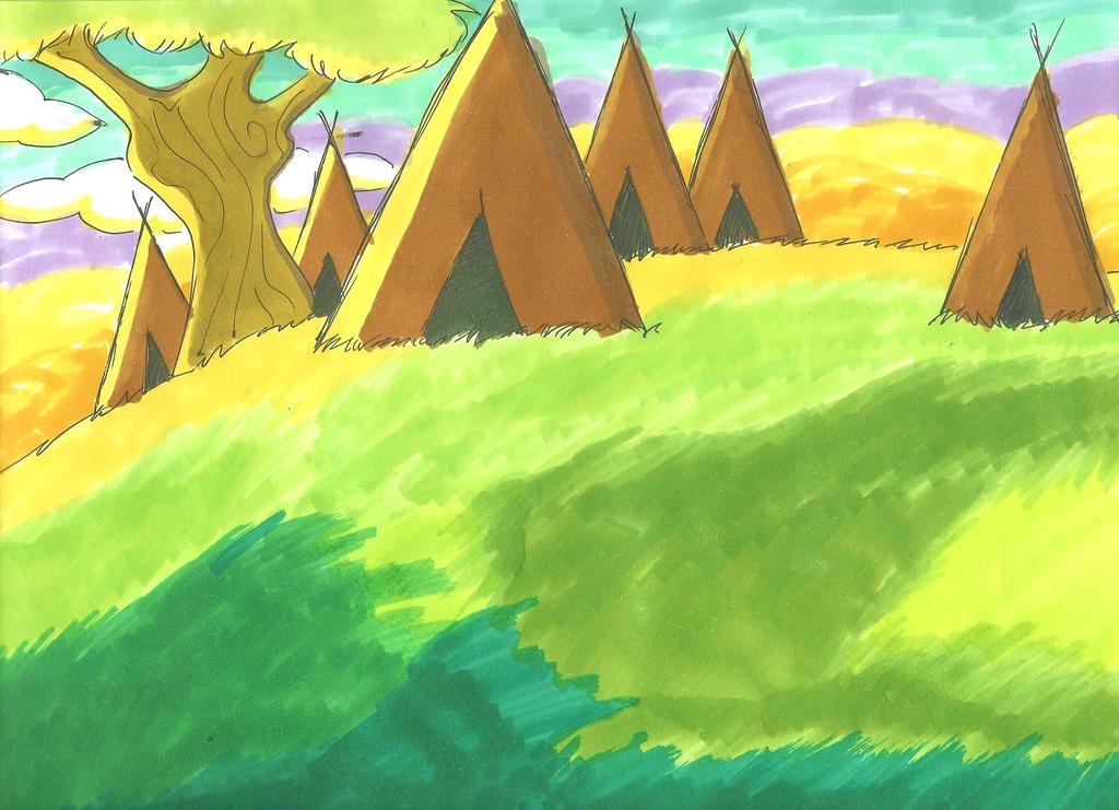 The Camp by Alinwa-Abiska