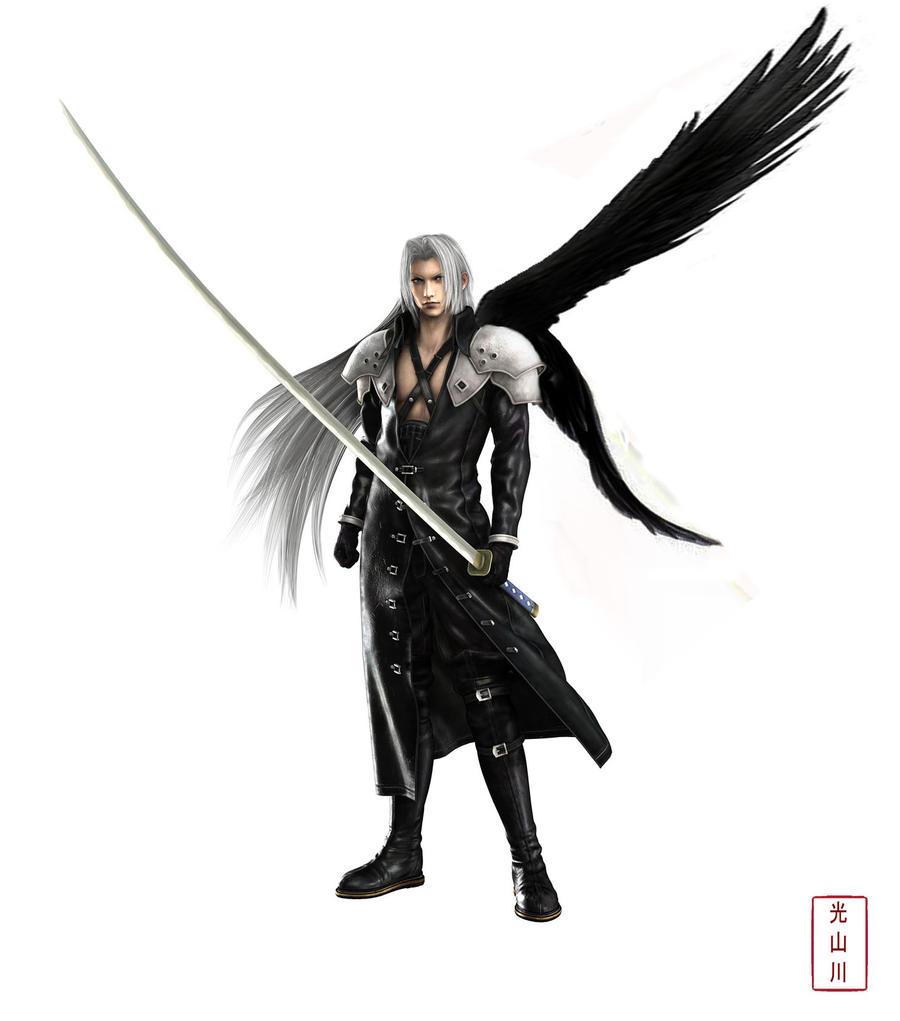 Sephiroth Wing Sephiroth by Ang-leo o...
